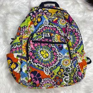Vera Bradley Paisley Floral Backpack